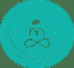 Wereld van Yoga Lotus flower icon