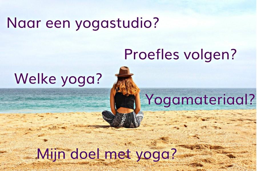 starten yoga waar op letten vrouw yoga op strand Starten met yoga: waar moet je op letten? - Wereld van Yoga