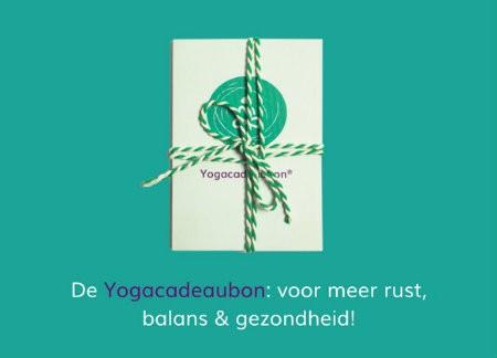 Yoga cadeau geven yoga cadeaubon