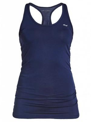 yoga kleding yoga shorts tops blauwe top
