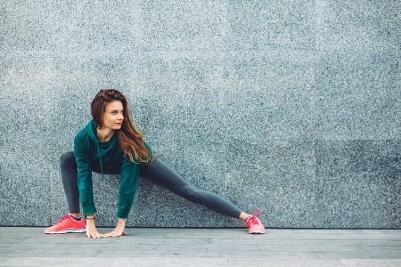 yoga bij hardlopen warming up cooling down