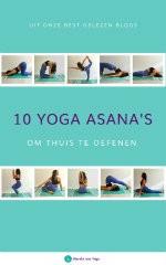 e-book 10 yoga asana's om thuis te oefenen