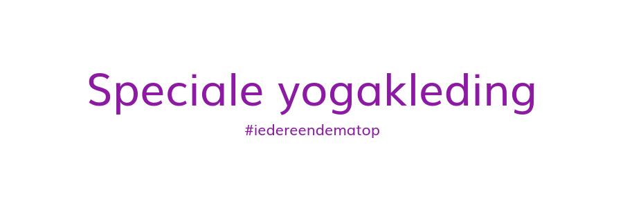 speciale yogakleding