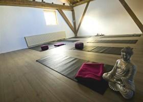 yogastudio franeker yogaenzo boeddha in yogazaal
