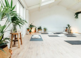 yoga studio we do yoga soest zaal planten yogamatten Wereld van Yoga