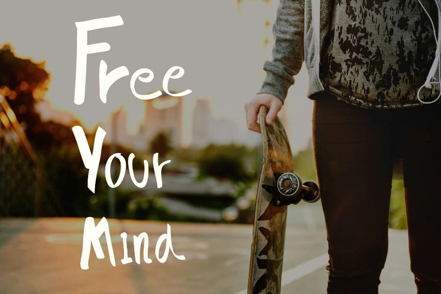 mindful sporten koel blijven inspanning stoere skatboarder Mindful sporten: blijf koel tijdens de grootste inspanningen - Wereld van Yoga