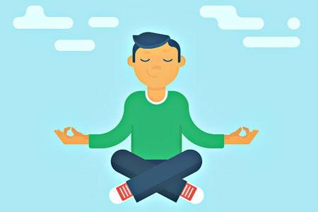 verschillen yoga meditatie mindfulness man mediteert