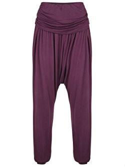 yogakleding wat is goede yoga broek harem broek paars