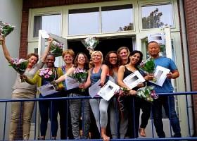 integrale yoga nederland yogastudio rotterdam west mensen met yoga diploma Wereld van Yoga