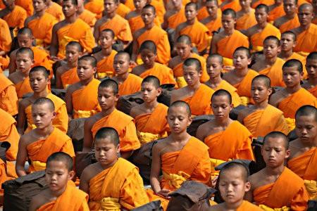 hatha yoga meest beoefende yogasoort mediterende monniken