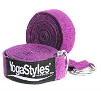 wat is yogariem extra lang paars 243 cm