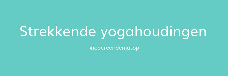 strekkende yogahoudingen