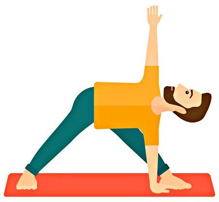 verschillen yoga meditatie mindfulness man doet yoga