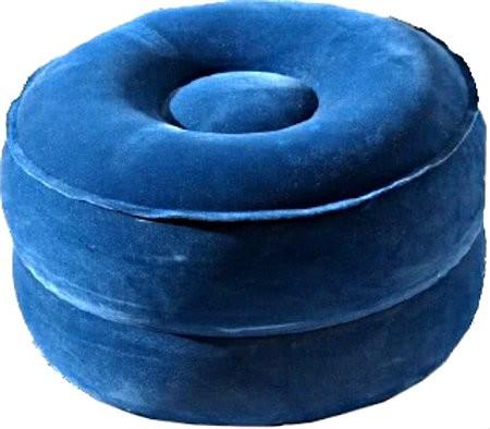 meditatiekussen kopen goede opblaasbaar blauw