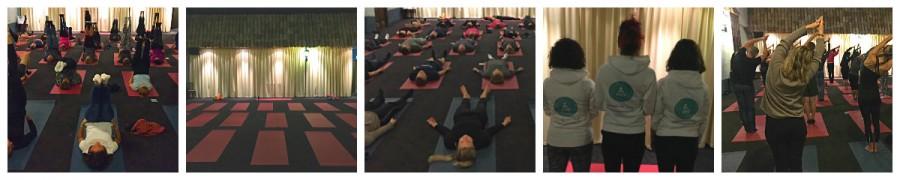 Yoga zakelijk business event meer focus