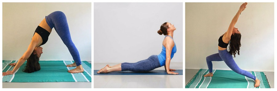 verschil ashtanga en vinyasa yoga houdingen